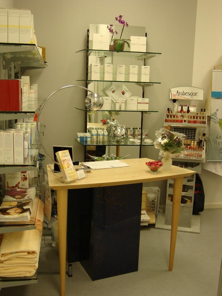 Kosmetik im Gesundheitszentrum